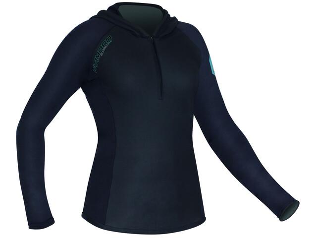 Camaro Blacktec - T-shirt manches longues Femme - noir
